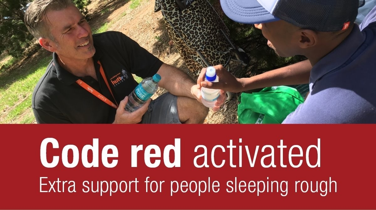 Code red activated extra support for sleeping rough SA Homelessness Gateway