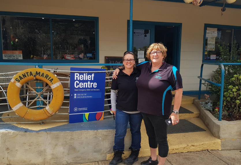 bushfire relief and recovery centre