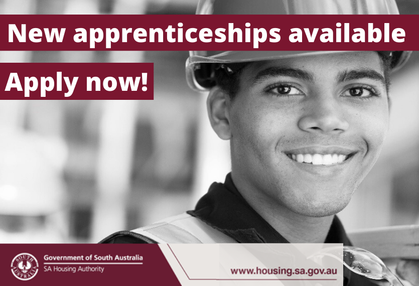 New Apprenticeships available, Apply Now